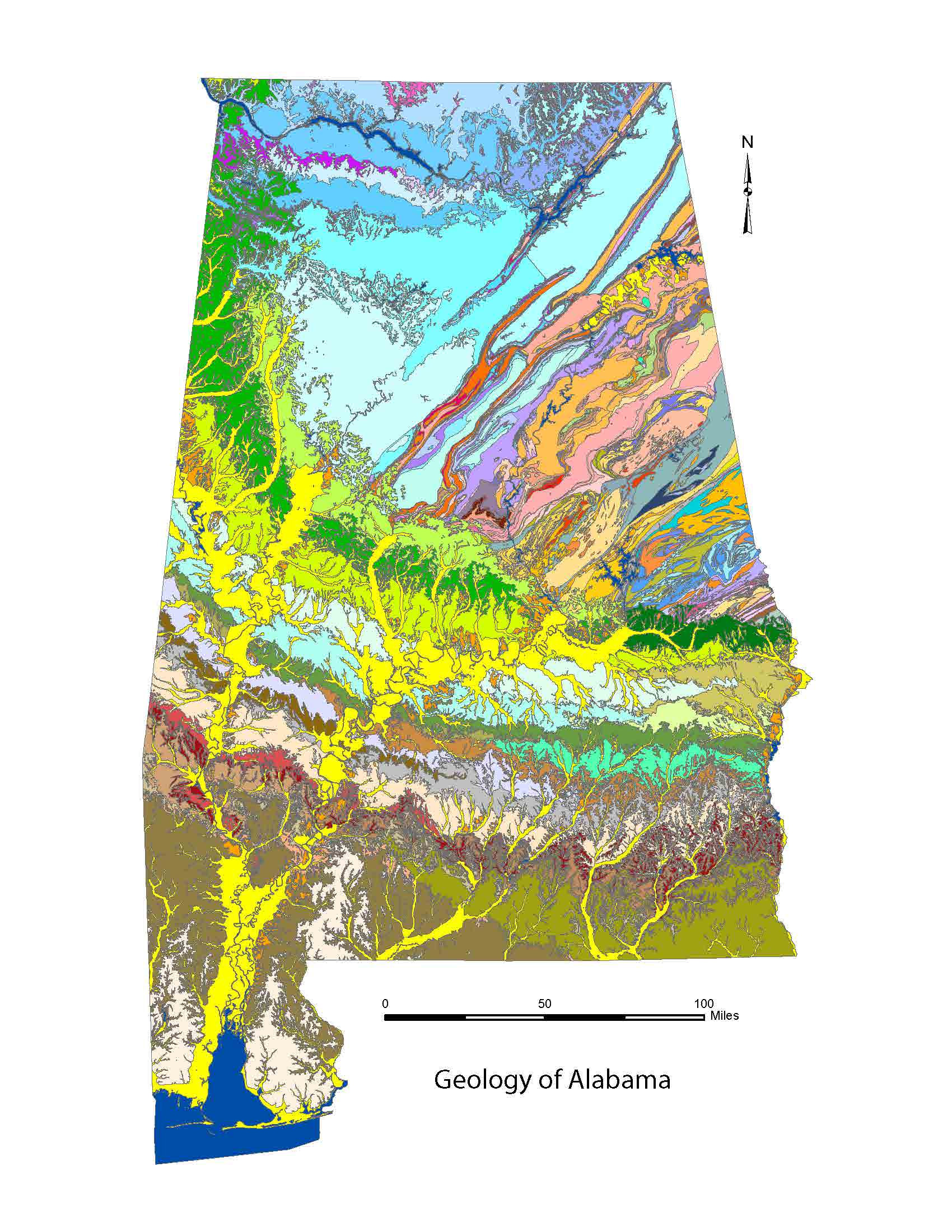 Geology of Alabama
